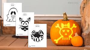 pumpkin pattern wallpaper carving templates for the perfect pumpkin
