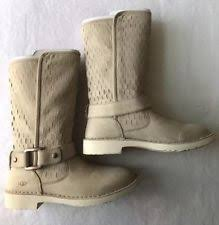 ugg noira buckle calf boots ugg australia leather buckle mid calf boots for ebay