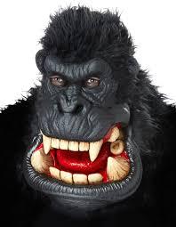 gorilla halloween mask killa gorilla costume mask costume craze