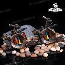 custom tattoo machine damascus u0026 copper liner and shader custom