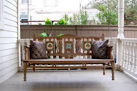 wood modern porch swing u2014 bistrodre porch and landscape ideas