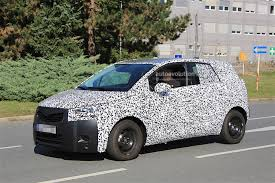 2017 Opel Meriva Spied In Front Of Opel Headquarters Still