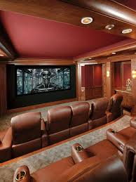 Best Home Theaters  Media Rooms I  Images On Pinterest - Home media room designs