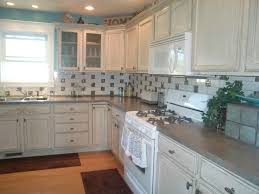 White Distressed Kitchen Cabinets by Hand Distressed Alder Cabinets The Distressing Is Enhanced By The