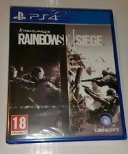 siege sony tom clancy s rainbow six siege sony playstation 4 ebay