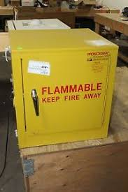 Justrite Flammable Liquid Storage Cabinet Protectoral Justrite 5516 Yellow Flammable Liquid Storage Cabinet
