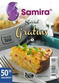 samira tv cuisine fares djidi samira tv spécial gratins سميرة غراتان fares djidi livre