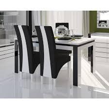 chaise pour salle manger chaise de table 180 cm 6 chaises lina pour salle manger laqu e