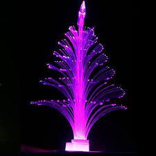 tree ornaments led electronic flash fiber optic colorful