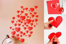 wall decor for valentines day art ideas crafts