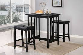 bar stools scottsdale homelegance scottsdale 3 pc dinette set in black finish 5310bk