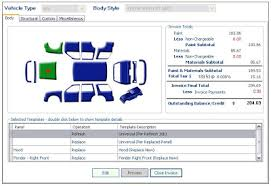 Auto Paint Shop Estimates by Pmclogic Paint Material Calculator