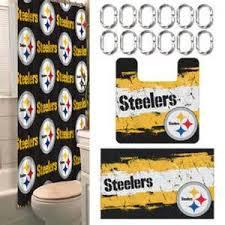 Pittsburgh Steelers Comforter Pittsburgh Steelers Bathroom Decor Tsc