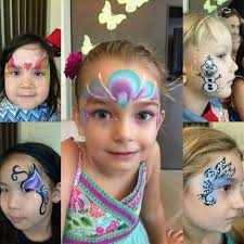 professional facepainting for kids birthday party facepainting singapore