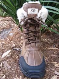 ugg australia womens black grey adirondack boots ugg australia adirondack ii otter womens boot sheepskinshoes com