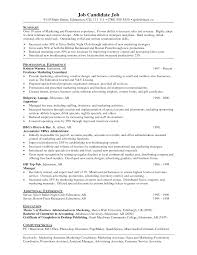 Resume Samples Receptionist by Sample Resume Of Marketing Assistant