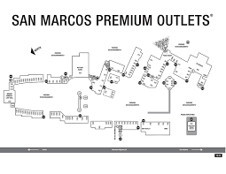 san marcos outlet mall map san marcos outlet map my
