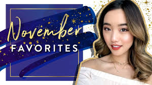 november favorites 2016 youtube