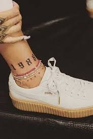 a complete guide to rihanna u0027s tattoos u2013 including her new shark