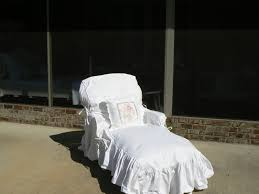 Shabby Chic Chaise Lounge by A Well Loved Home Creating A Shabby Chic Outdoor Patio