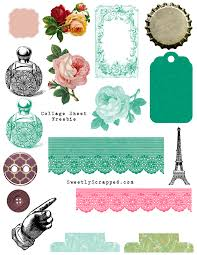 free printable collage sheets sweetly scrapped s free printables