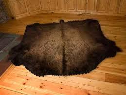 Bison Hide Rug Bison U0026 Buffalo Skulls Mounts And Rugs For Sale Bill U0027s Bear