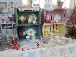 vintage china vintage wedding fayre the view from the exhibitors dotty