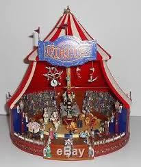 mr christmas mr christmas world s fair big top circus animated gold label