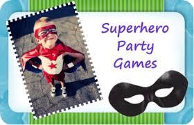 Superman Birthday Party Decoration Ideas Top Superhero Party Games And Superhero Activities