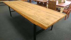 Live Edge Conference Table Industrial Live Edge Farm Conference Table Farmhouse Furniture