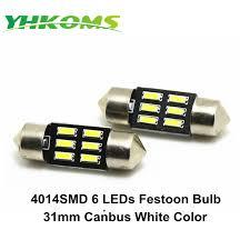online shop yhkoms 31mm festoon car interior reading light super