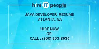 free resume writing services in atlanta ga seadoo java developer resume atlanta ga hire it people we get it done