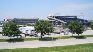 Kauffman Stadium Map Truman Sports Complex Wikipedia
