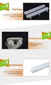vapor proof fluorescent light fixtures ip65 ce rohs led tri proof light 20w 30w 50w t8 waterproof led