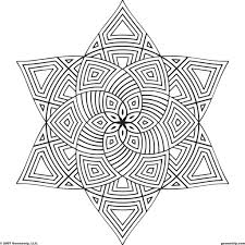 coloring pages geometric patterns to color design patterns