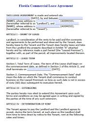 100 month to month commercial lease template sample commercial