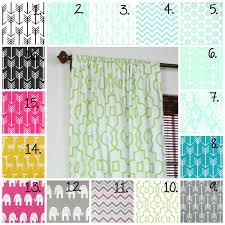 Nursery Curtain Fabric by Nursery Curtains Mint Curtain Panels Mint Drapes Arrow