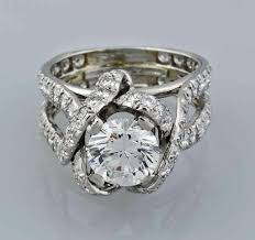 rings vintage diamond rings vintage engagement ring settings