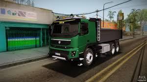 volvo dump truck volvo fmx dump truck for gta san andreas