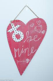 Easy Diy Valentine S Day Decor by Diy Valentine U0027s Day Chalkboard