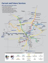 Map Of Dallas Area Dallas Area Rapid Transit Inmotion Spring 2008 Dart Current