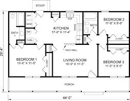 4 bedroom house plans 1 story 3 bedroom 2 bath house plans myfavoriteheadache com