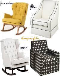 furniture nursery gliders glider chair with ottoman sale baby
