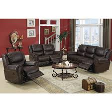 Reclining Living Room Furniture Sets by Living Room Amazing Chocolate Brown Living Room Furniture Ideas
