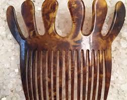 vintage comb antique hair comb etsy