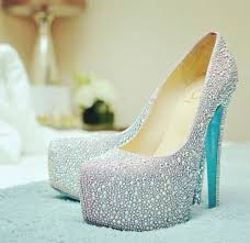 wedding shoes bottoms christian louboutin blue sole wedding shoes search
