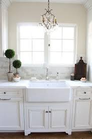 Kitchen Sink With Cabinet Best 25 White Farmhouse Sink Ideas On Pinterest Farmhouse Sink