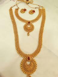 necklace sets design images Double necklace sets design 23 vasthra jewels jpg