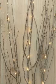 Lighted Branches Lighted Gray Birch Branches Battery Operated Leds 39 In Warm White