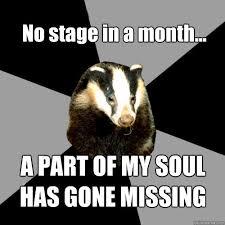 Honey Badger Meme Generator - backstage badger memes quickmeme this is soo me pinterest